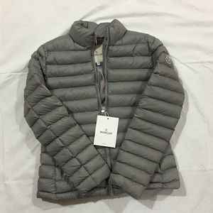 womens moncler gray coat jacket